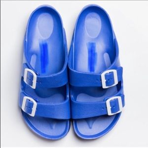 NEW! Electric Blue Pool Party Shoes